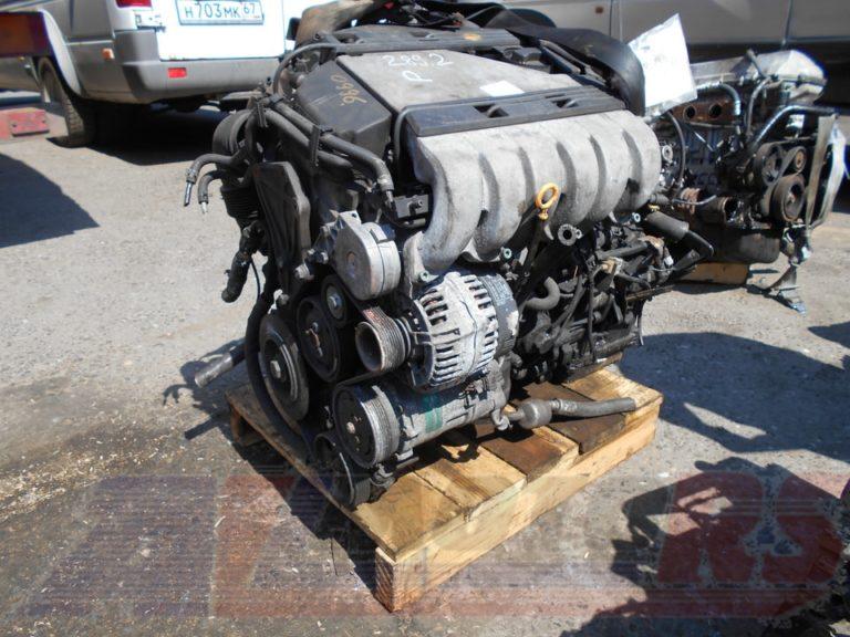 Контрактный двигатель Фольксваген Шаран 2,8и VR6 AAA