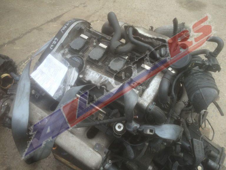 Двигатель контрактный Фольксваген 1.8т AGU/AQA/ARZ/AUM/AWD/AWW Golf 4, Passat B5