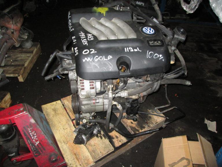 Двигатель контрактный Шкода 2.0и AEG/AQY/AVH/AZG/AZJ/BEV/APK/BER SOHC 8кл. для Октавия