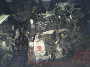 Контрактный двигатель Фольксваген Шаран 1,9TDi AUY