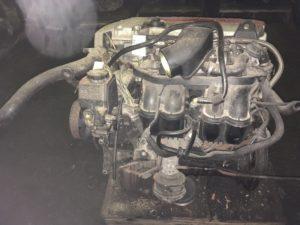 Контрактный двигатель Мерседес 2.0и 111.957 62055714