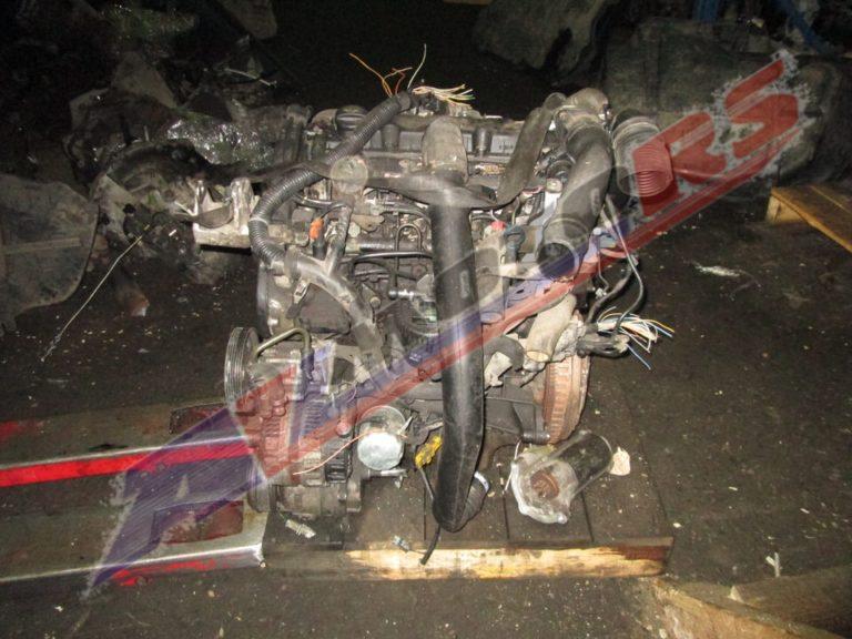 Контрактный двигатель Пежо 2.0ТД RHZ/DW10ATED для 406
