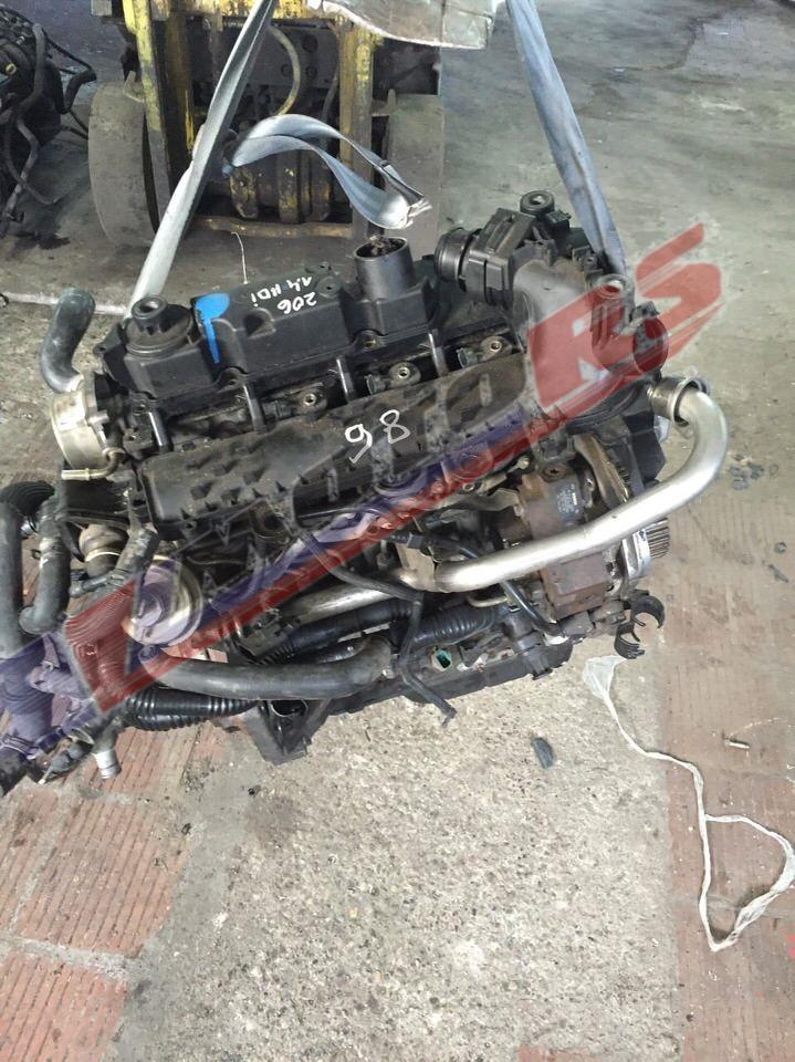 Контрактный двигатель Ситроен 1.4тд 8HX/8HZ/DV4TD для С2, С3