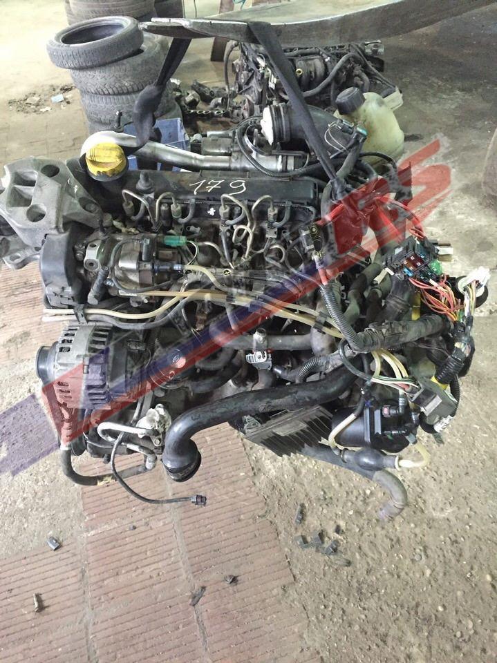 Двигатель контрактный Рено 1.5тд K9K702, K9K710, K9K722 для Рено Меган, Кэнгу, Клио, Сценик