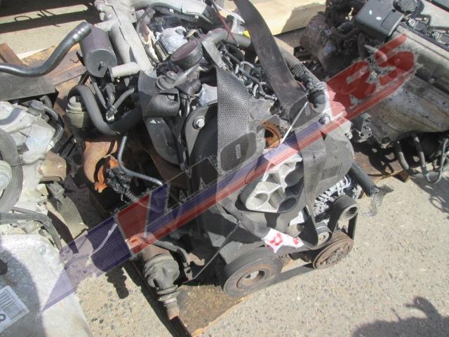 Двигатель контрактный Рено 1.9тд F9Q 800 для Меган
