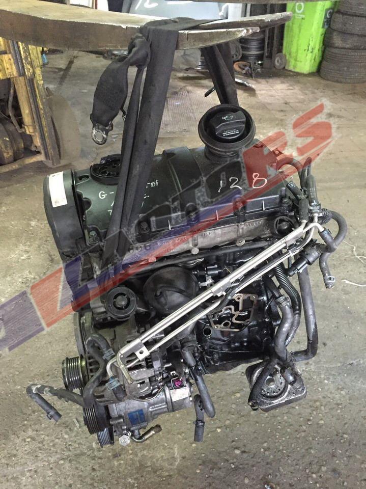 Контрактный двигатель Ауди А3 1.9TDi ASZ