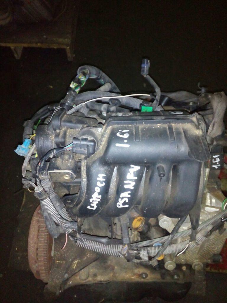 Контрактный двигатель Ситроен 1.6и NFV / NFZ (TU5JP) 8v