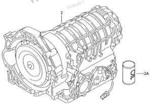 Контрактная АКПП Ауди 5HP-19 DES для мотора 2,4и