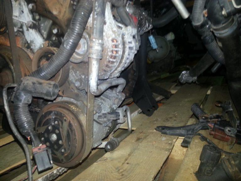 Контрактный двигатель бу Ниссан 1,8и QG18DE