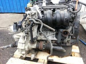 Контрактный двигатель бу VAG 1.4и 16V BBY 380416 (BKY,AHW,AKQ,APE,AUA)