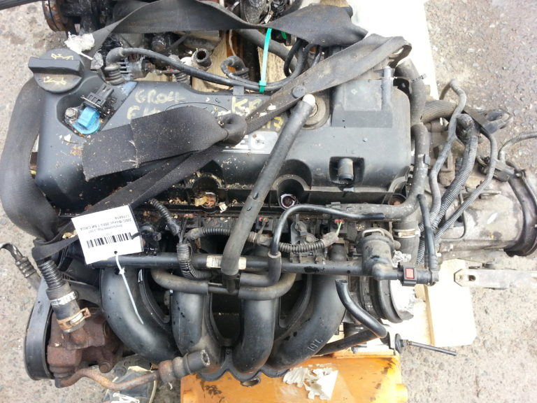 Контрактный двигатель Форд Фокус 1,6и 8кл. CRDA 3J16814
