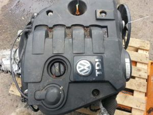 Контрактный двигатель бу Фольксваген Пассат 1,9TDi AVB 236422