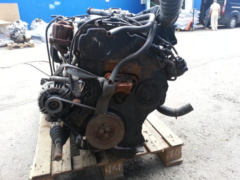 Контрактный двигатель Форд Транзит 2.0TDi F3FA 4Y02348