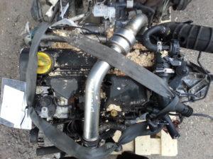 Контрактный двигатель бу Рено 1,5dCi K9k732 D176337 Siemens Меган, Сценик