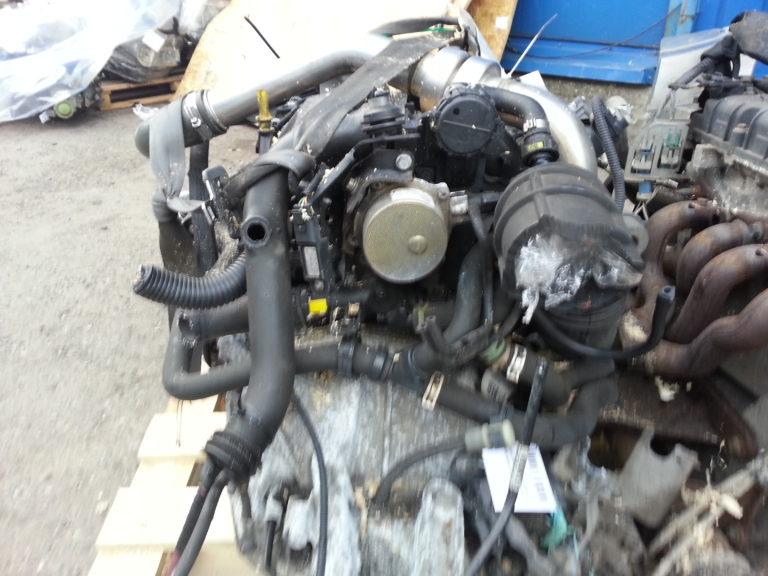 Контрактный двигатель бу Рено 1,5dCi K9k724 D003392 Меган, Сценик