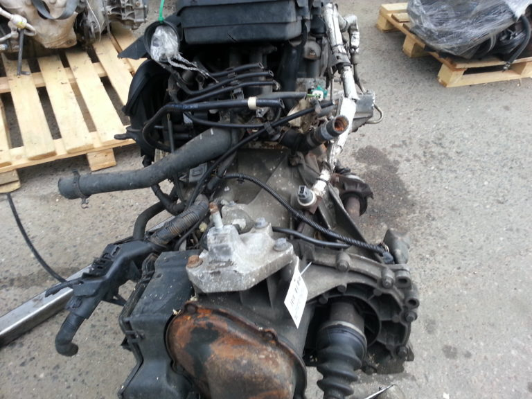 Контрактный двигатель Форд 1,6и FYJA 5M66621 (FYJB; FYJC)