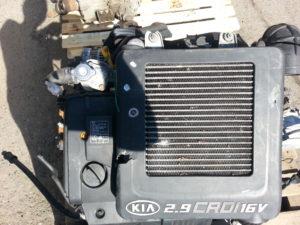 Контрактный двигатель бу Кия 2.9CRDI KJ (J3) J3670217 Седона, Карнивал II
