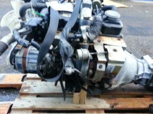 Контрактный двигатель бу Ниссан Террано II 2.7тд TD27 00729B