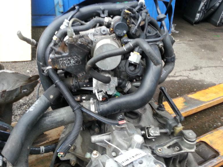 Контрактный двигатель бу Опель 1,3дт Z13DT 343185