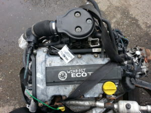 Контрактный двигатель бу Опель Астра G, Корса B 1,2и 16V X12XE 19M58977