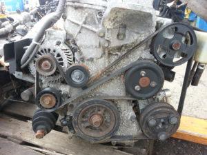 Контрактный двигатель бу Мазда 2,0и LF 235775 -(щуп в поддон)