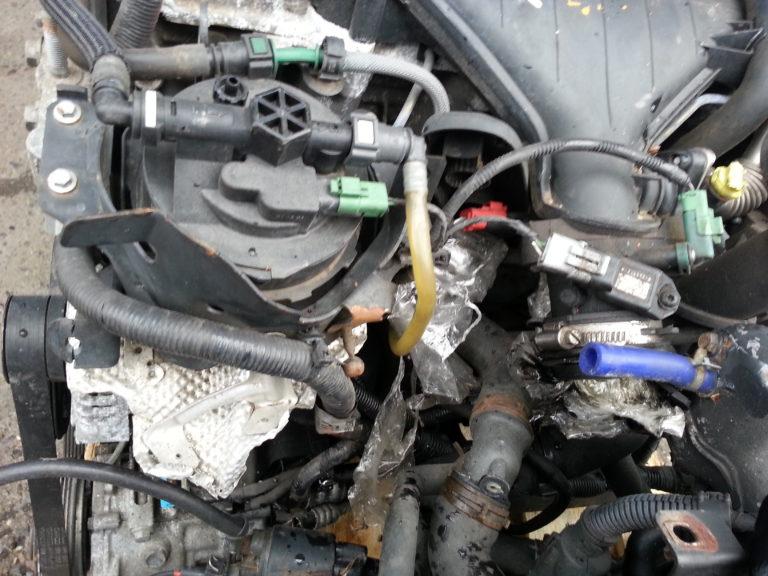 Контрактный двигатель Форд 2,0тд G6DA 4B80774 (G6DG; G6DB; G6DD)
