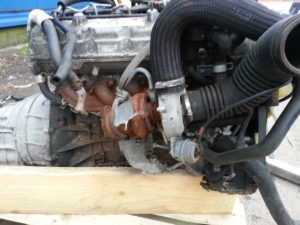 Контрактный двигатель бу Ssangyong Rodius 2.7тд D27DT 665926 20513042