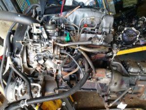 Контрактный двигатель бу Митсубиси 2,5тд 4D56 TD для Паджеро II, L200