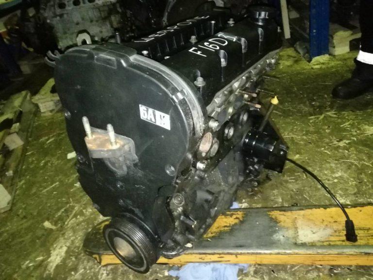 Контрактный двигатель Шевроле 1.6и F16D3 338173 на Шевроле Авео, Калос, Лачетти и Нубира