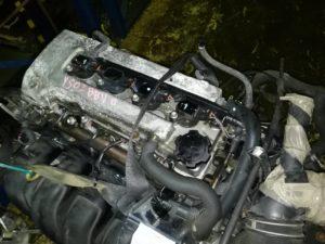 Двигатель контрактный Тойота 1.8и 1ZZ-FE 306834 для Авенсис, Селика, Королла