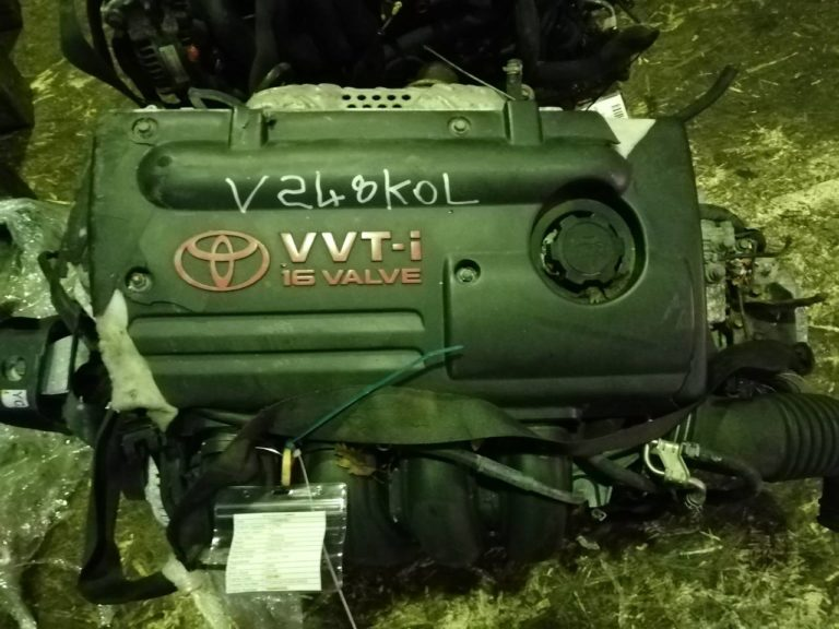 Двигатель контрактный Тойота 1.8и 1ZZ-FE 7A0440235 для Авенсис, Селика, Королла