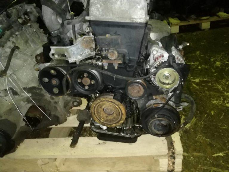 Двигатель контрактный Тойота 1.8и 7A-FE 7AU602965 для Авенсис, Селика, Королла