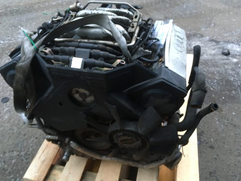 Двигатель контрактный для Ауди A6, A4, A100, A80 2,6и ABC 130900