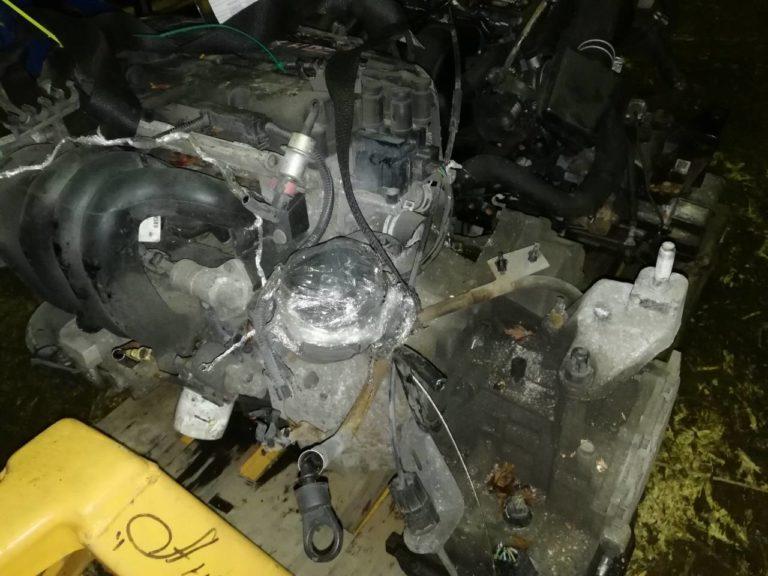 Контрактный двигатель бу Форд 1 1,6и FYDB 4C70256 (FYDB; FYDA)
