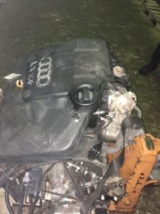 Двигатель AKL 1.6i