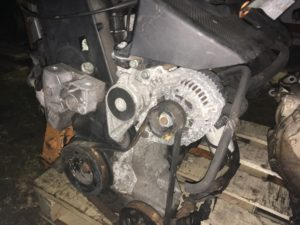 Двигатель контрактный Ауди А3 1.6i AKL 046991