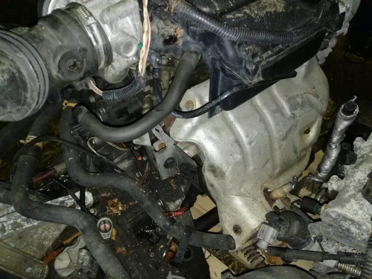 Двигатель контрактный Рено 1.6и K4M812 D008138, K4M813