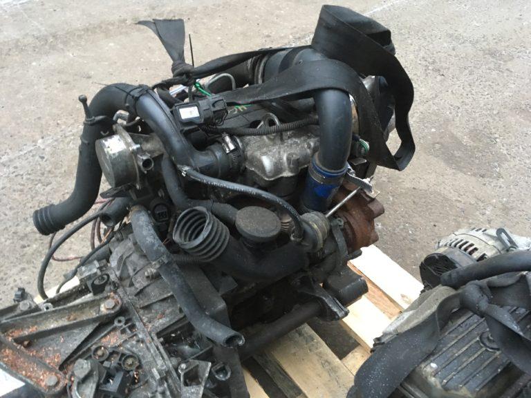 Двигатель контрактный Рено 1.5тд K9K722 D222333 для Рено Меган, Кэнгу, Клио, Сценик