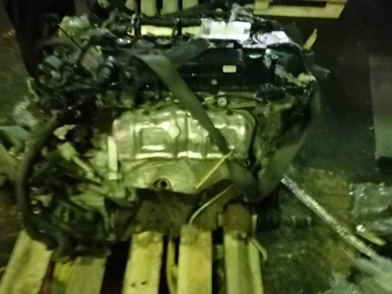 Контрактный двигатель бу Мазда 2,0и LF 318848 -(щуп в поддон)
