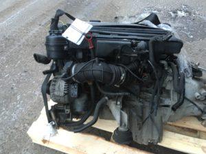 Контрактный двигатель бу 2,5и M52B25 (256S4) 32412083 для БМВ Е46