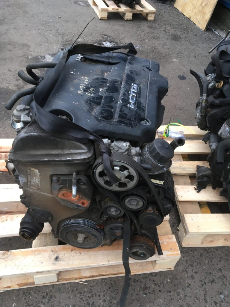 Контрактный двигатель Хонда Аккорд 2,2 i-CTDi N22A1 12104276