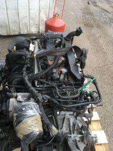 Контрактный двигатель бу Форд Фокус 2 1,8и QQDA 4D10889