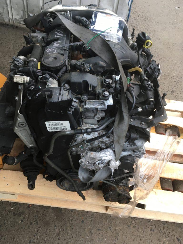 Контрактный двигатель Форд 2,0тд QXWA 9P75012 (QXWB) для Galaxy, S-Max