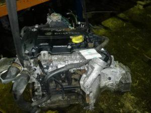 Контрактный двигатель Опель Корса, Агила 1.0и 12V TWINPORT Z10XEP 19BV3836