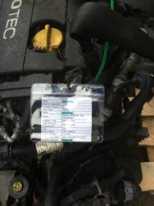 Контрактный двигатель Опель Астра, Зафира, Мерива, Вектра 1.6и Z16XEP 20GA7086