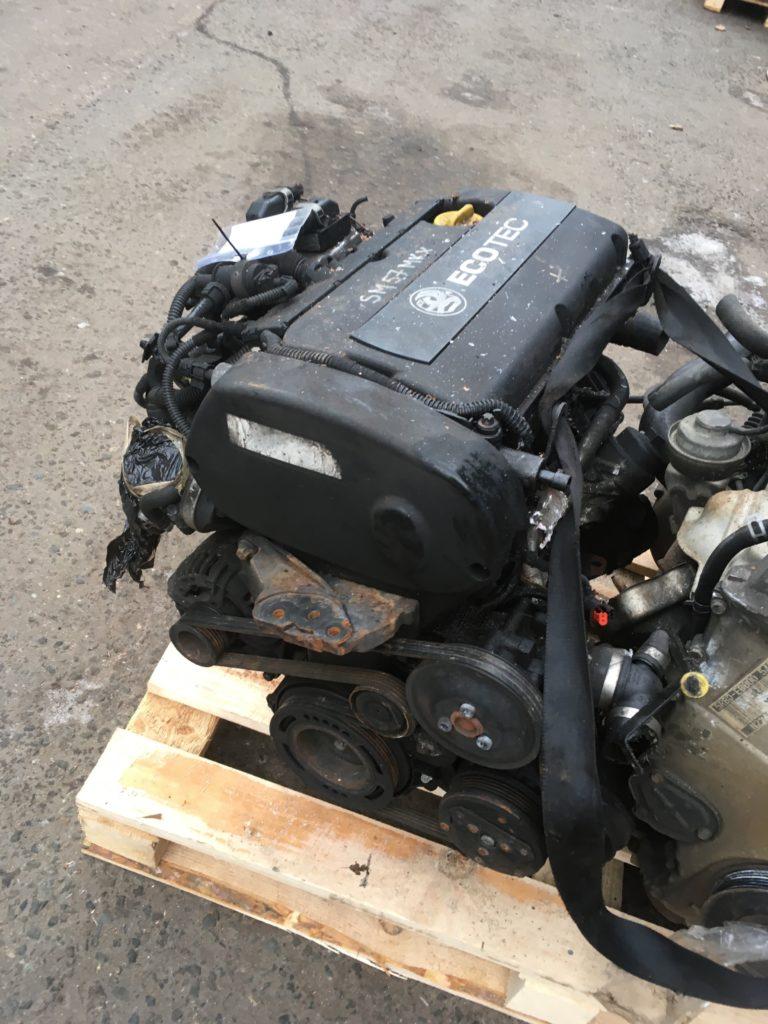 Контрактный двигатель Опель Астра, Вектра, Зафира, Сигнум 1.6и Z16XER 20KU9678