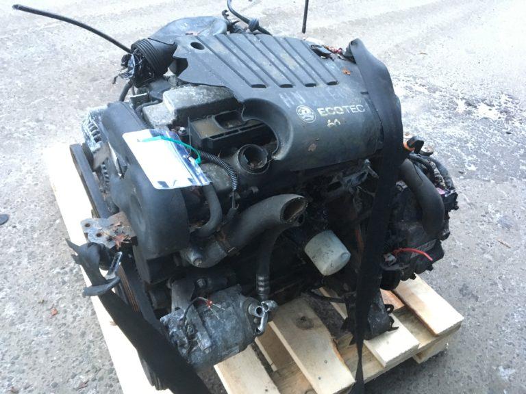 Контрактный двигатель бу Опель 1,8и 16V Z18XE 20DV6733