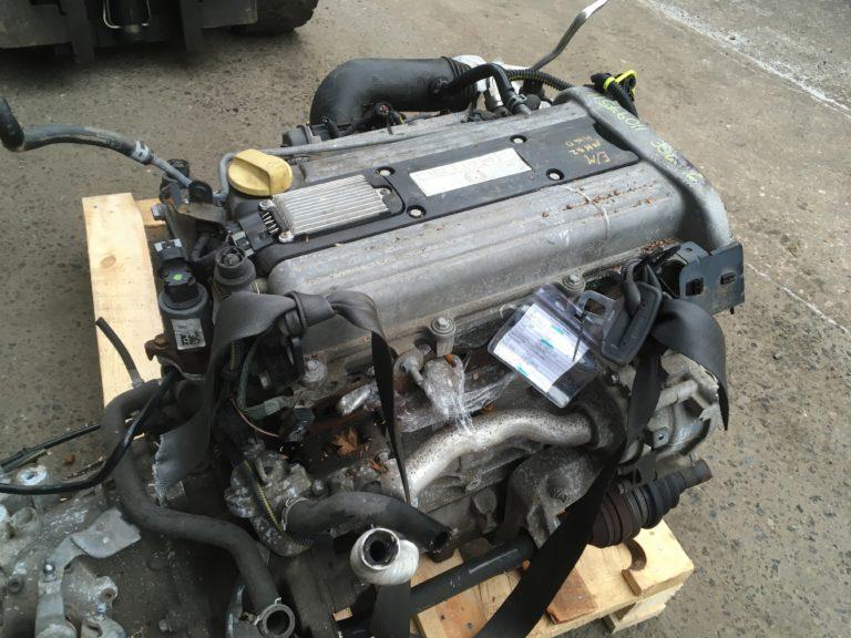 Контрактный двигатель Опель Астра, Вектра, Зафира 2.2и Z22SE 11097511
