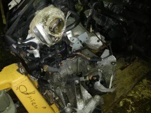 Двигатель контрактный Рено 1.6и K4M812 D015976, K4M813