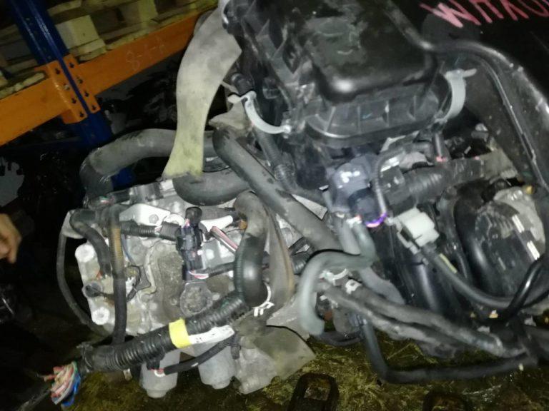Контрактный двигатель Пежо 107 1,0и 1KR-FE (384F)